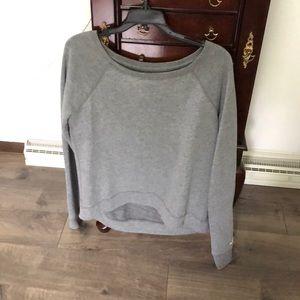 gray Hollister sweatshirt size medium